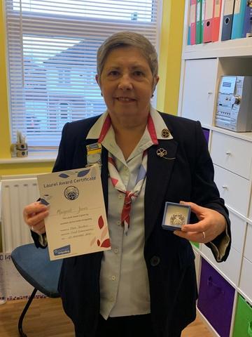 Laurel Award for Maggie